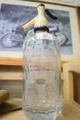 Mumbys of Portsmouth glass soda bottle