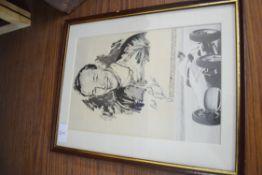 Print of John Surtees, Sportsman of the Year 1959