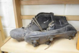 Pair of vintage sports style boots