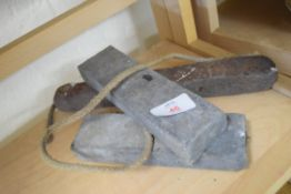 Quantity of lead sash window weights