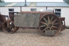 1940's GALION CHIEF 10ton ROLLER MODEL R WITH LEVELER