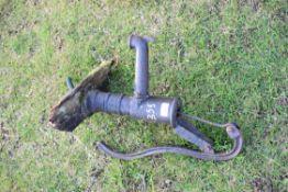 Small cast iron water pump, 50cm high