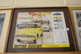Ford Motor car print