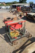 Belt driven table saw