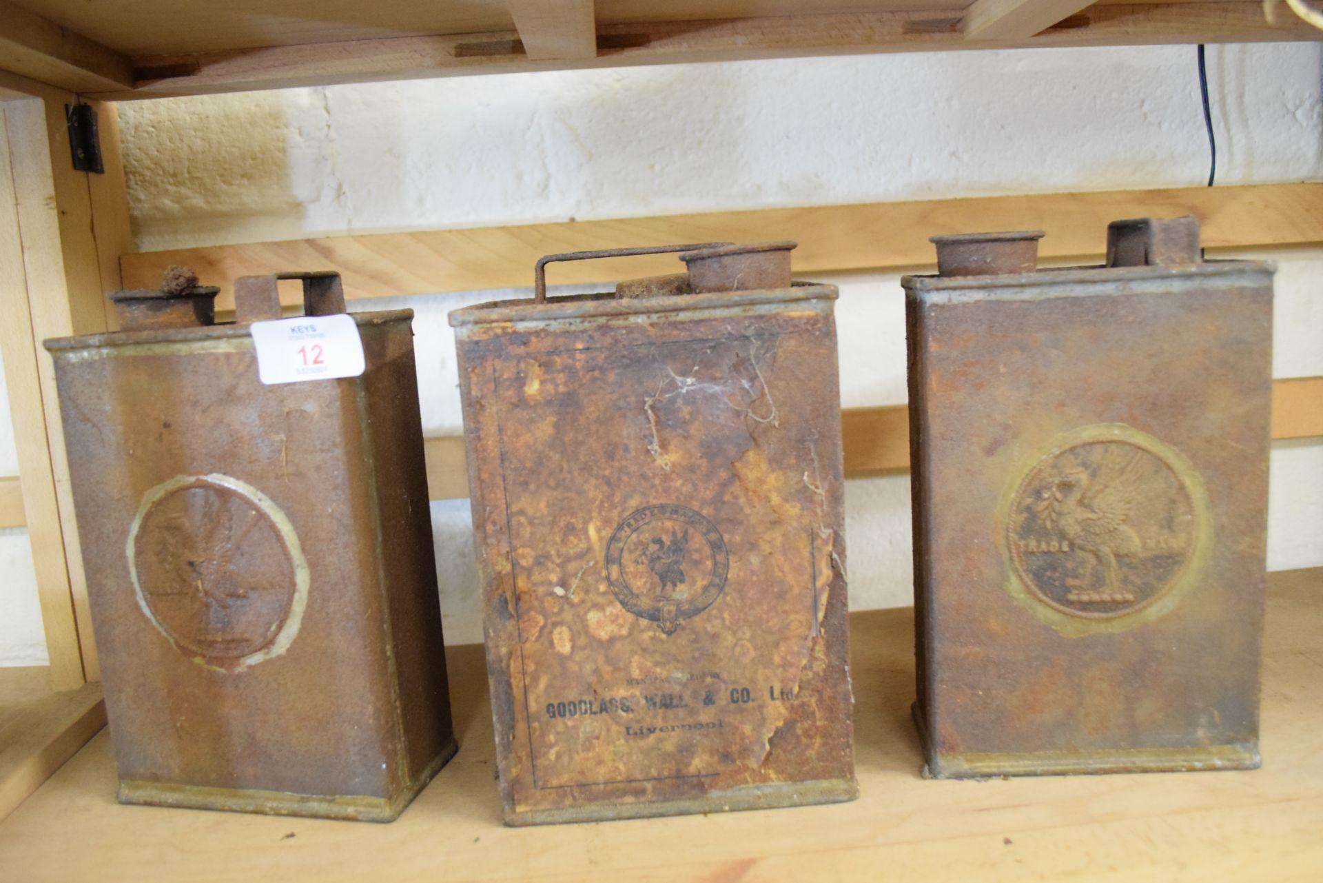 Three vintage Goodlass Wall & Co Ltd Liverpool