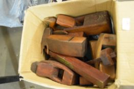 Collection of mixed block planes, spoke shaves etc