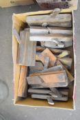 Box of wood planes