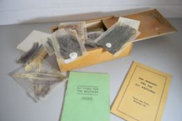 Box containing 'Fly Tying for the Beginner' instruction booklet and '101 fly dressings', along