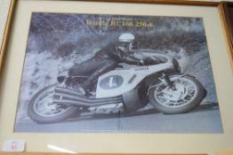 Honda RC advertising print