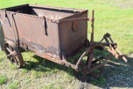 Vintage 400 gallon water cart