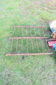 Small cast iron railing panel, 117cm high