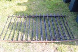 Quantity of iron railings