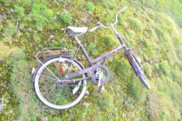 Vintage ladies Raleigh Solitaire bike