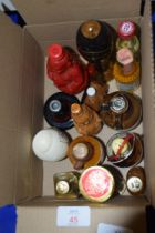 BOX OF MINIATURE BOTTLES OF SPIRITS
