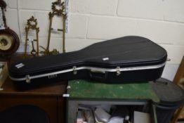 HOFNER ARCH BACK ACOUSTIC GUITAR IN TRAVEL CASE