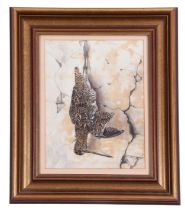 British, 20th century, Hanging Game - Woodcocks, watercolour laid on paper, indistinctly signed,