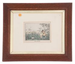 After Samuel Henry Alken (British, 19th century), Two hunting scenes: 'Grouse Shooting' and 'Duck