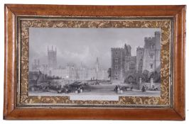 James Sands (British 19th Century) after Thomas Allom (British 19th Century) Westminster from