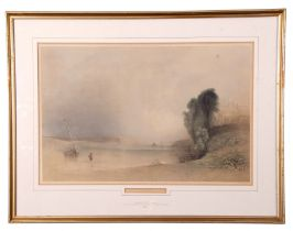 After Jean Le Capelain (British 19th Century), Views of St. Brelades, Jersey (2), coloured