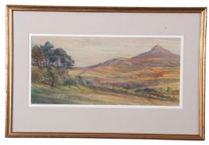 Frederick Hase Hayden (19th Century), View of Enniskerry, Ireland, watercolour, signed and