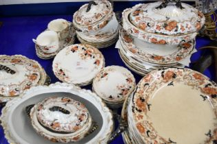 QTY OF KEELING & CO ALBANY PATTERN DINNER WARES