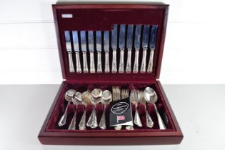 COOPER LUDLAM SHEFFIELD CANTEEN OF SILVER PLATED CUTLERY