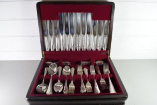 MODERN CANTEEN OF SILVER PLATED CUTLERY