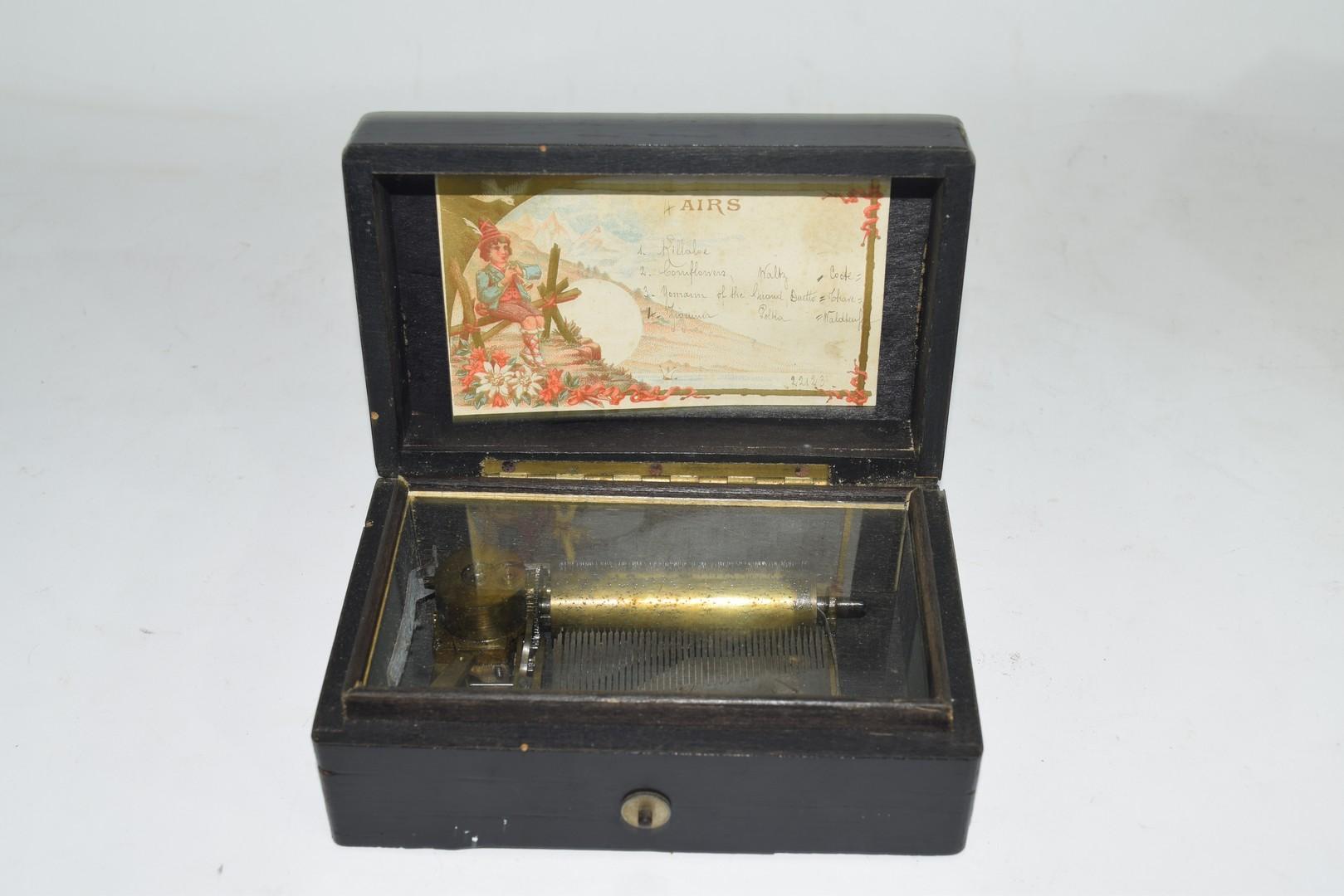 Miniature music box - Image 2 of 5