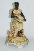 19th century Continental bisque porcelain figure