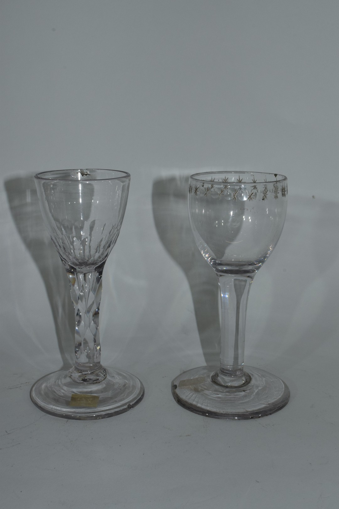 Two 18th century glasses - Image 2 of 6