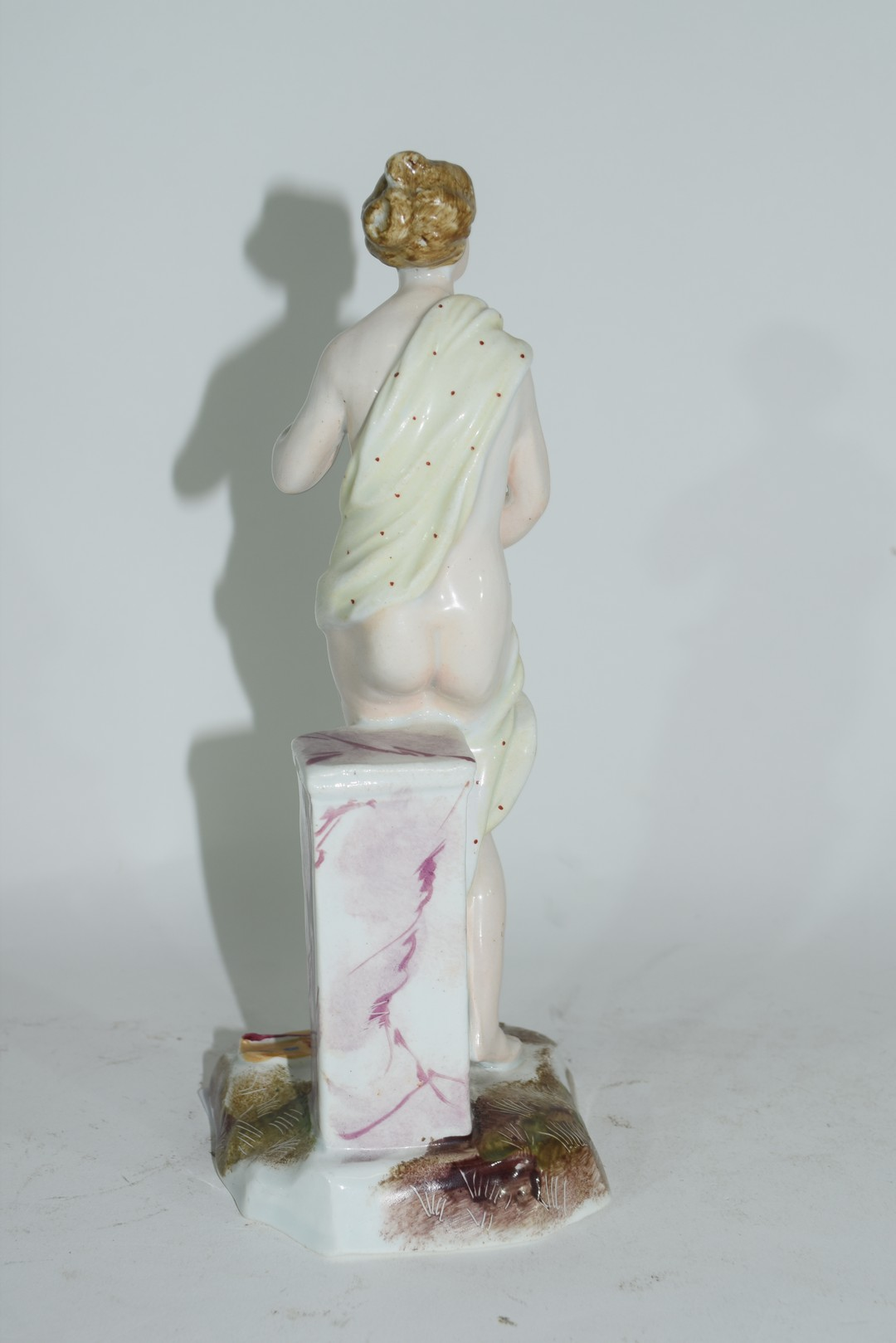Continental porcelain figure of a classical lady - Image 3 of 5