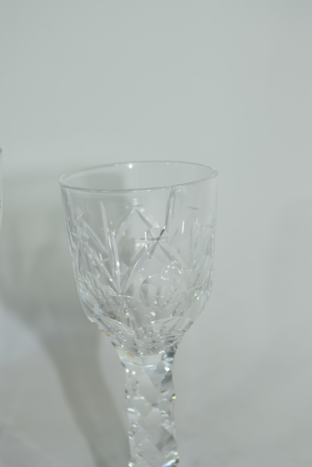 Two cordial glasses - Image 4 of 5