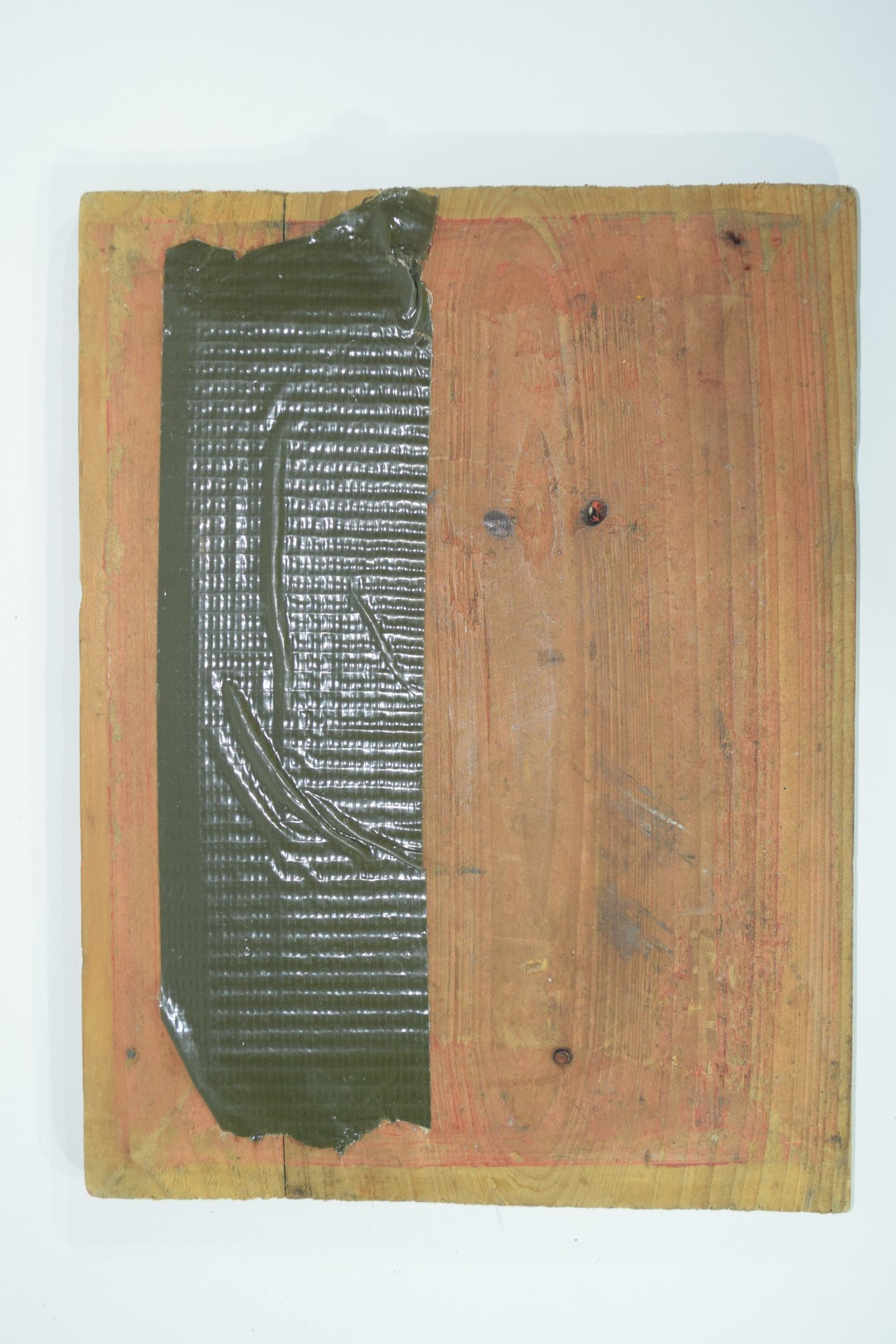 Group of seven Oriental wooden panels - Image 5 of 16