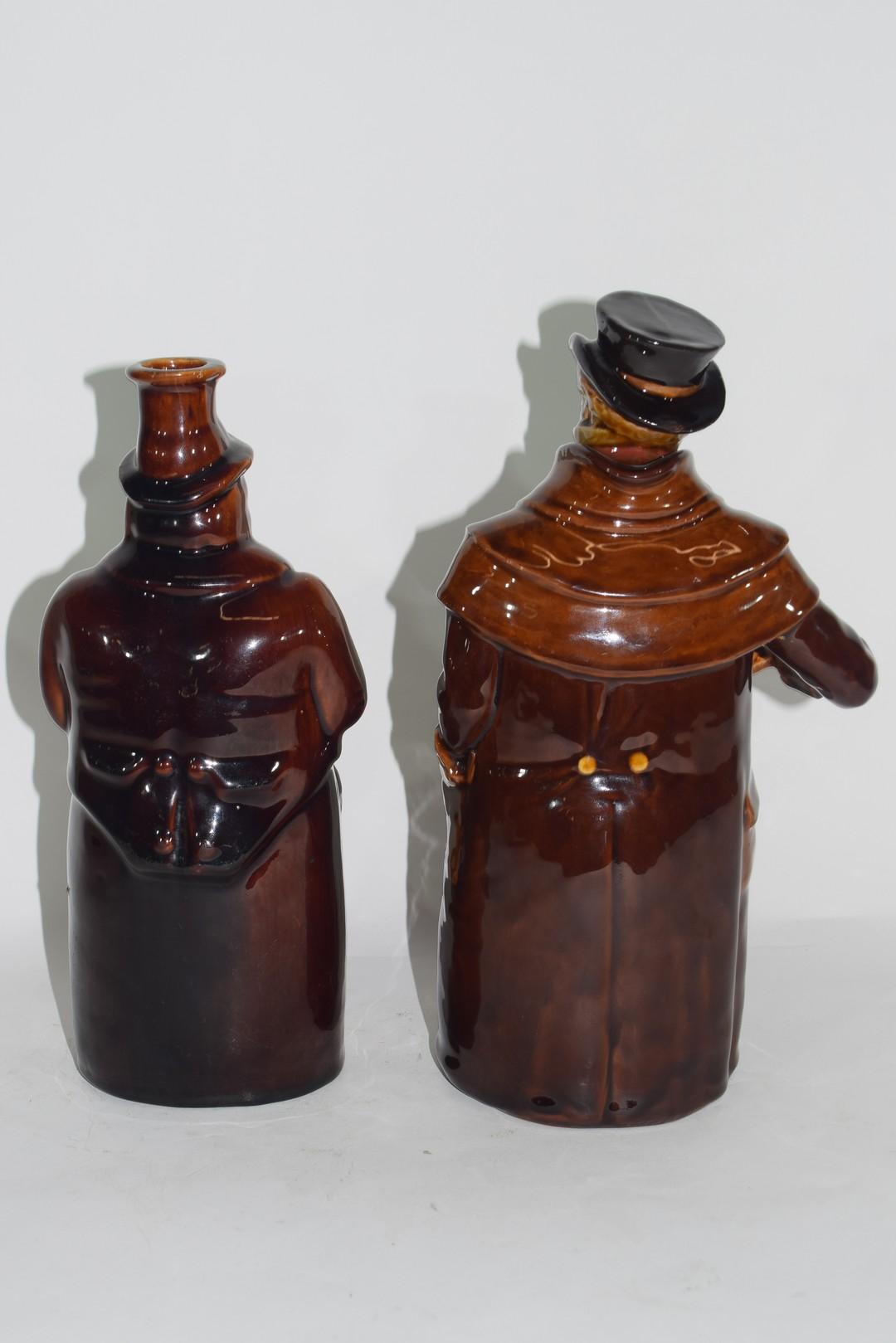 Royal Doulton Kingsware flask - Image 3 of 5