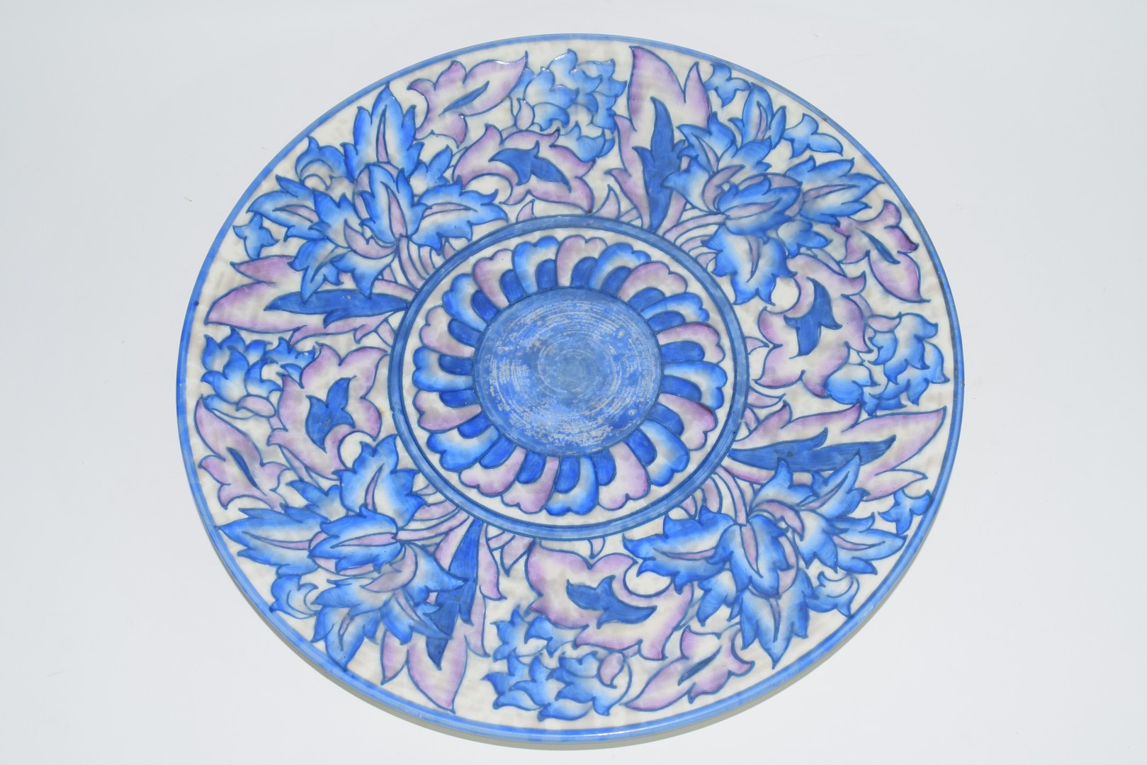 Crown Ducal charger by Charlotte Rhead - Image 2 of 4