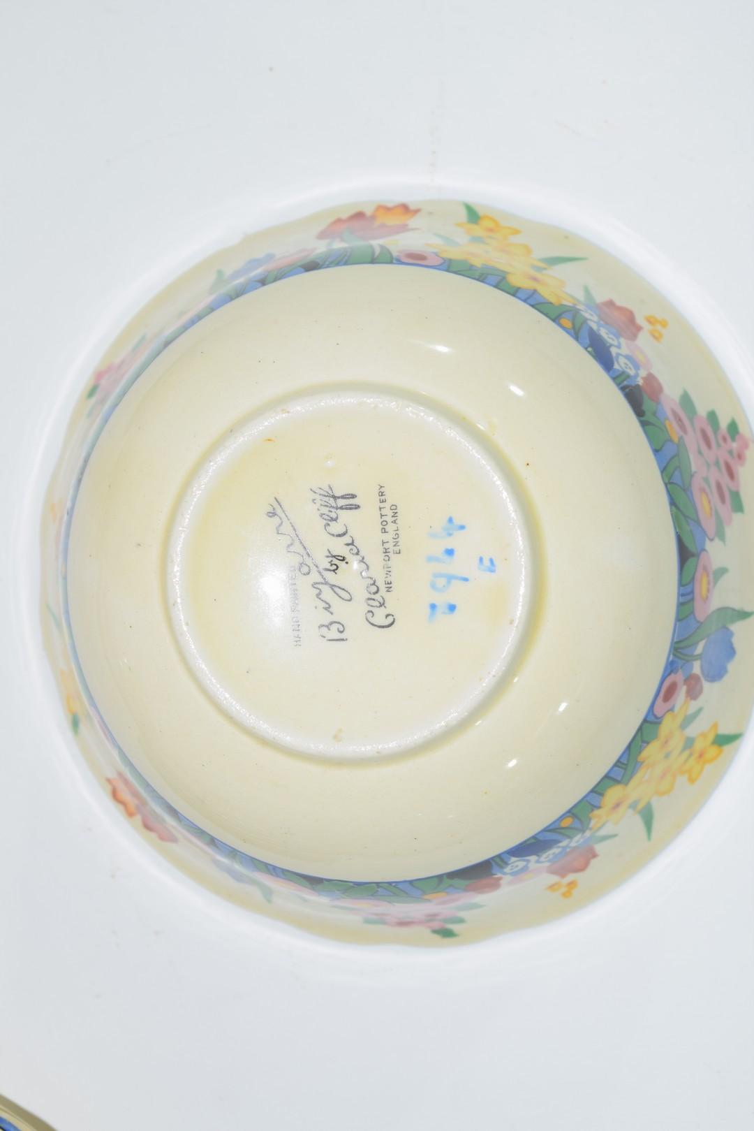 Clarice Cliff Bizarre tea set - Image 4 of 4