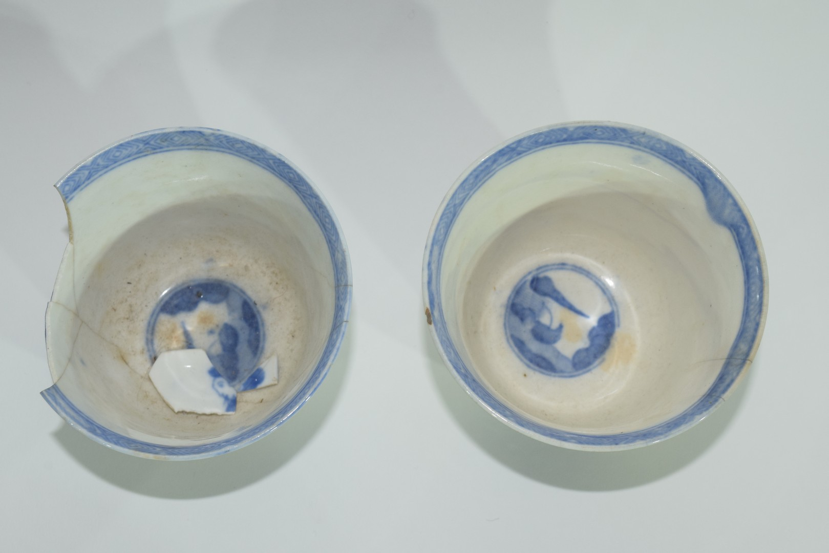 Group of Chinese export porcelain plates - Image 7 of 15