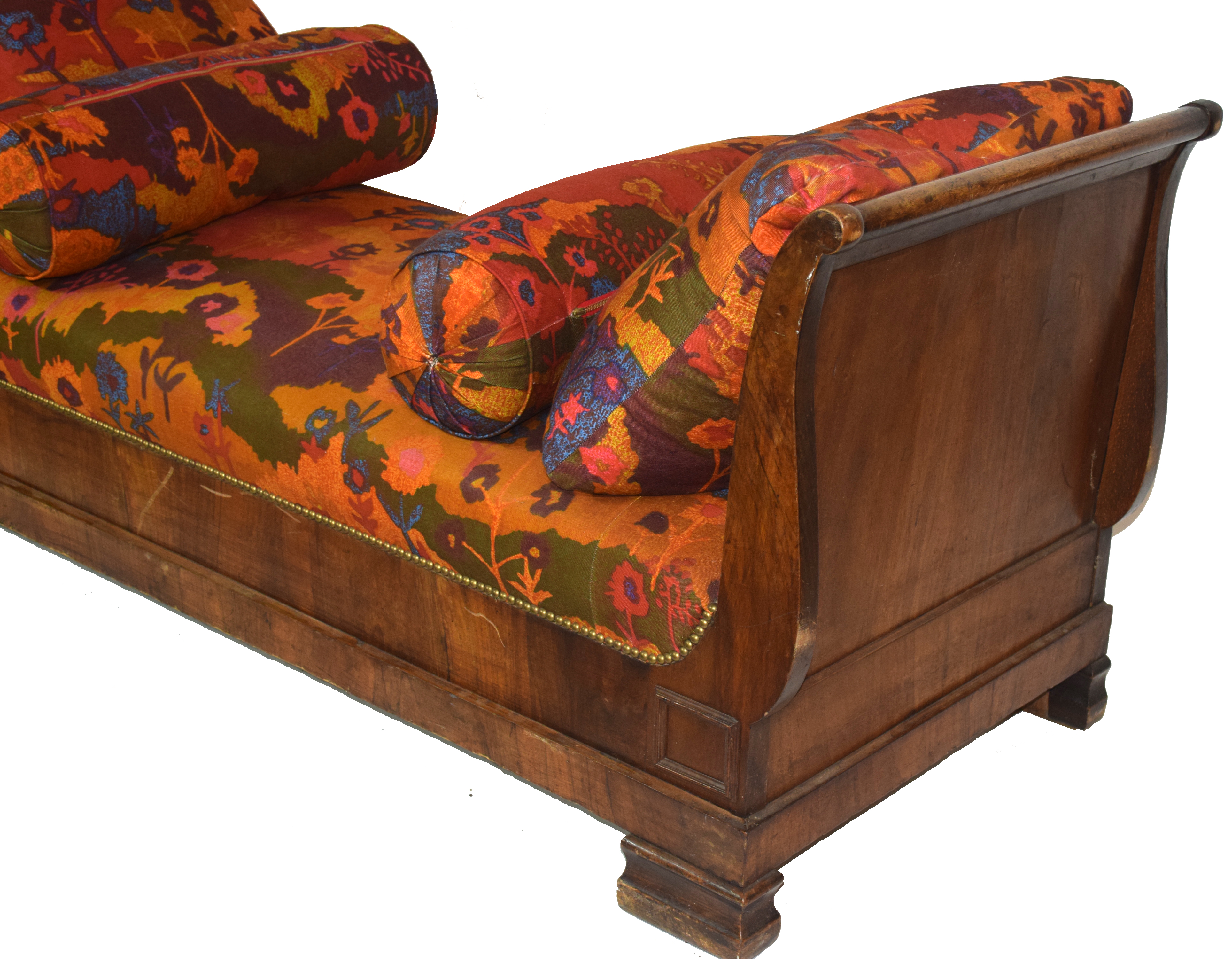 Late 19th century Continental side chair or chaise longue - Image 2 of 3