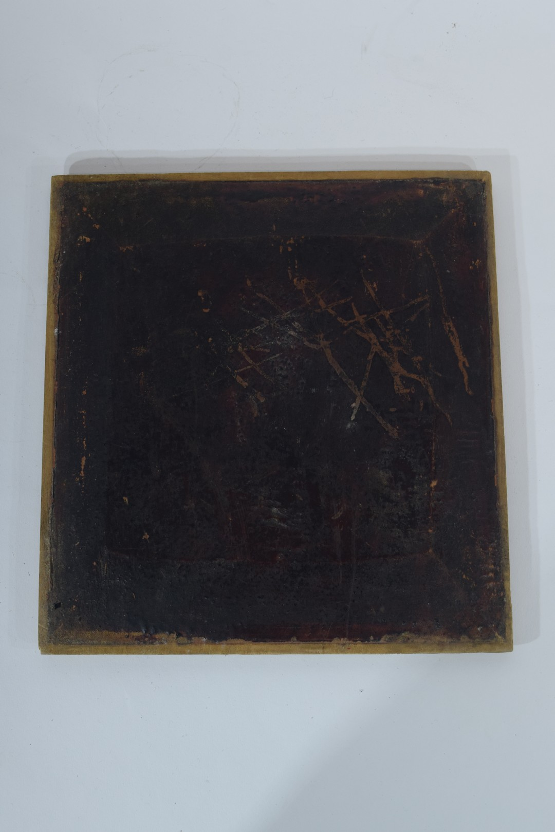 Group of seven Oriental wooden panels - Image 16 of 16