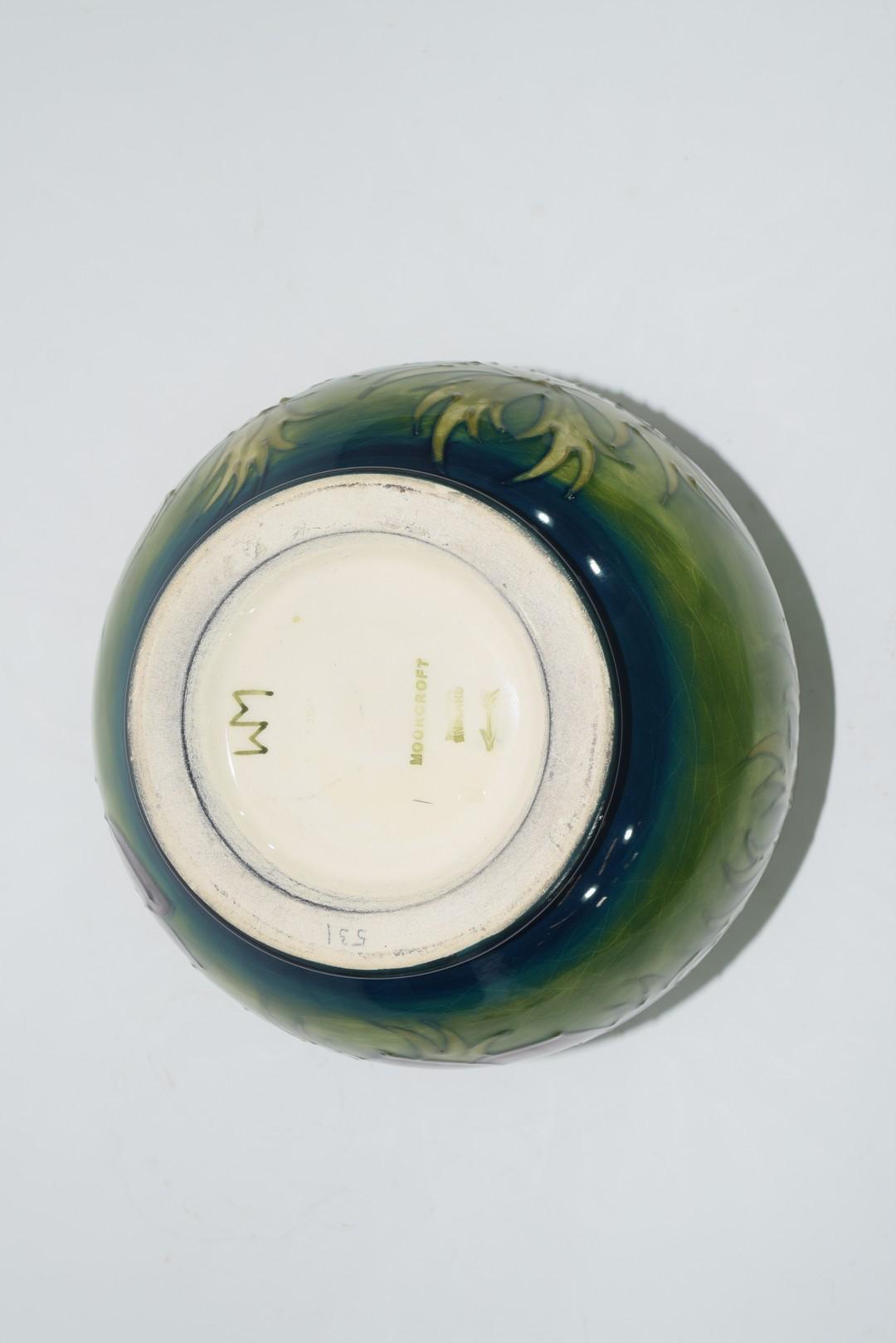Globular Moorcroft vase - Image 6 of 8