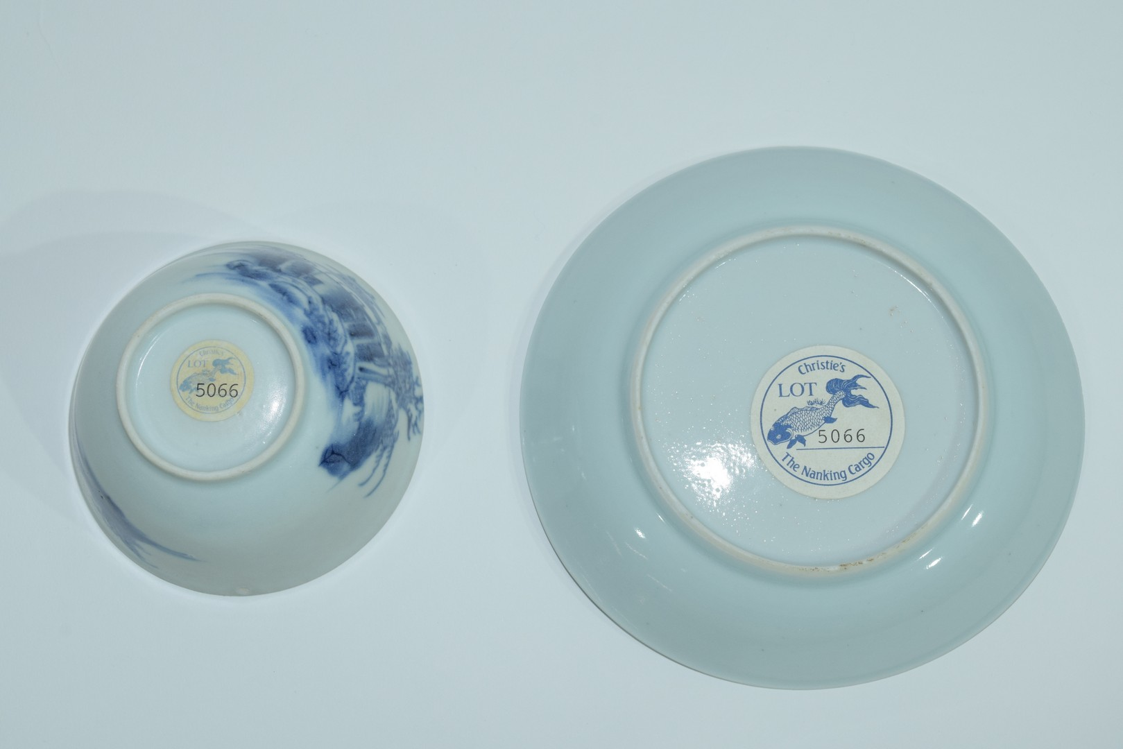 18th century Chinese porcelain Nanking Cargo tea bowl and saucer - Image 11 of 15