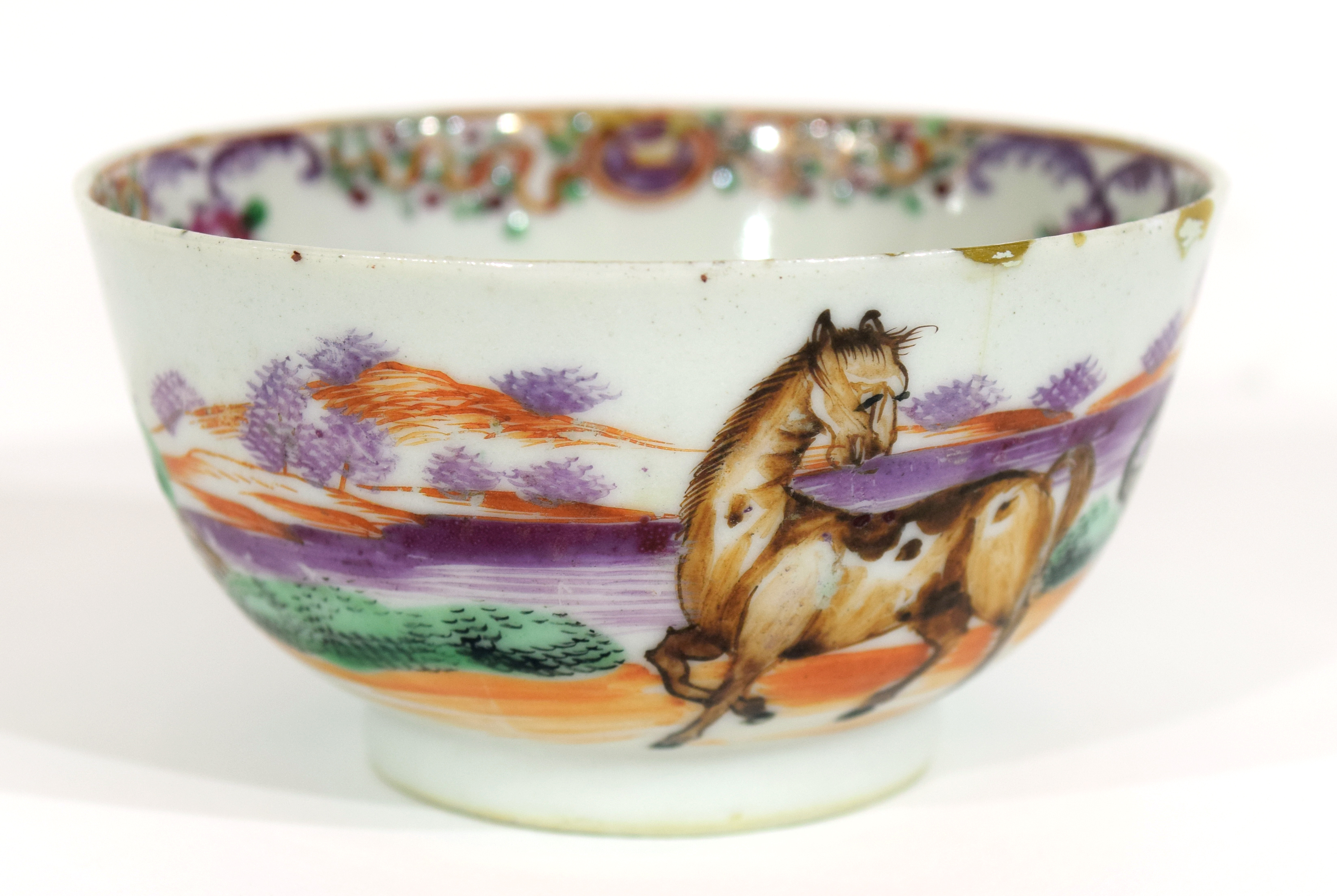 Small Chinese bowl, 18th century