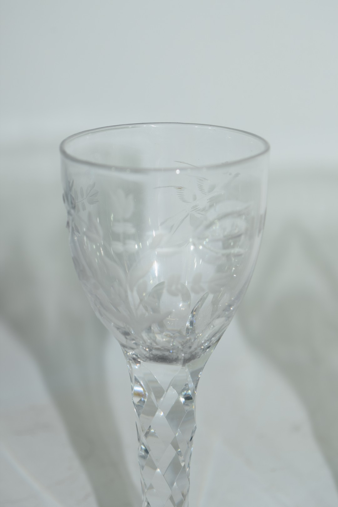 Two cordial glasses - Image 5 of 5