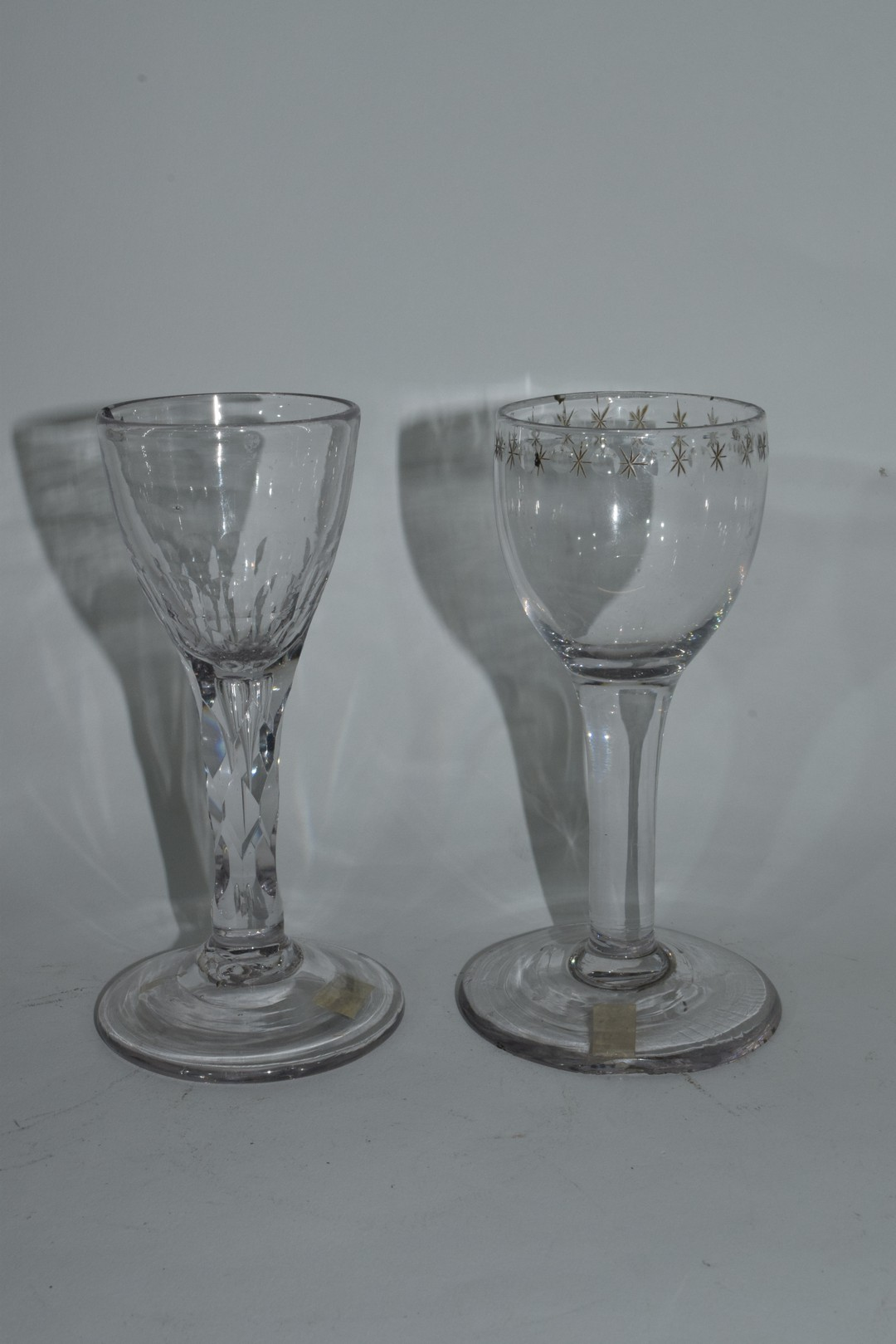Two 18th century glasses