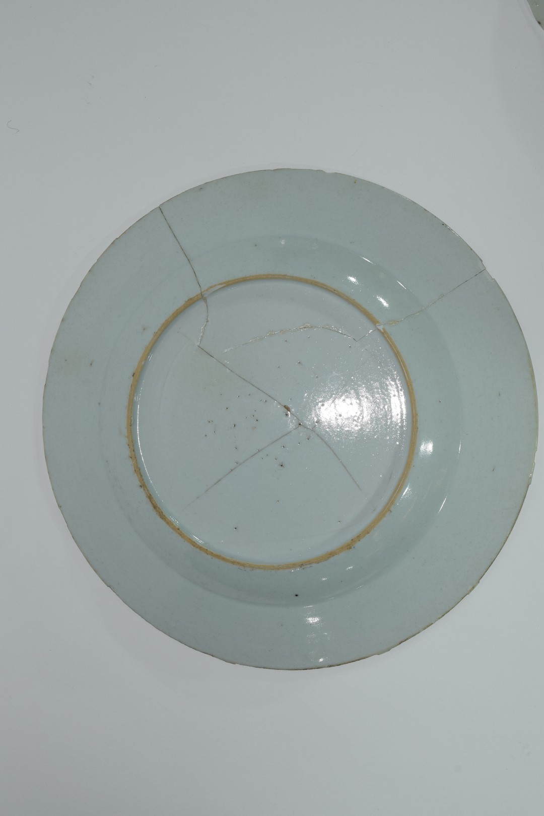 Group of Chinese export porcelain plates - Image 11 of 15