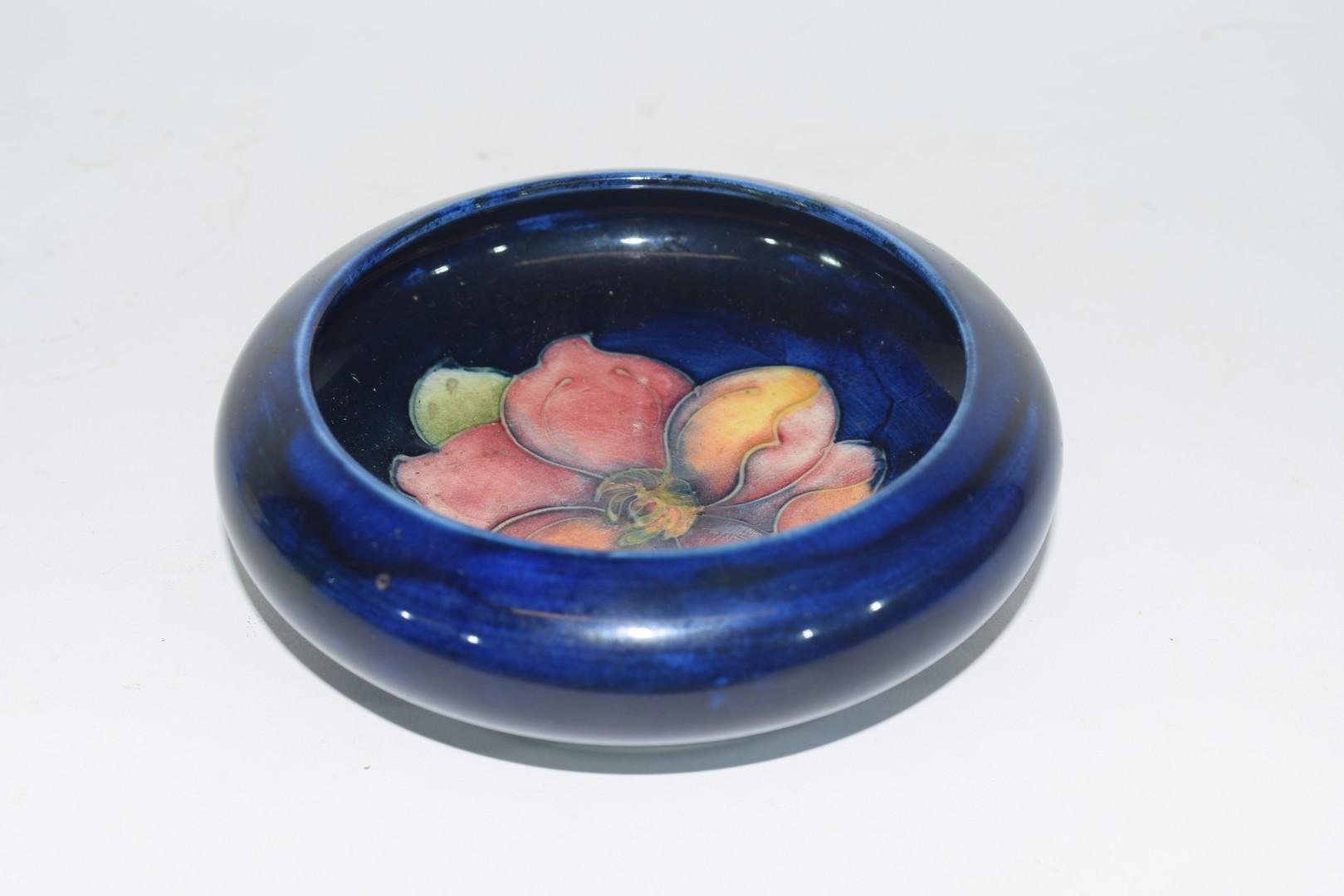 Small Moorcroft pin dish - Image 3 of 5