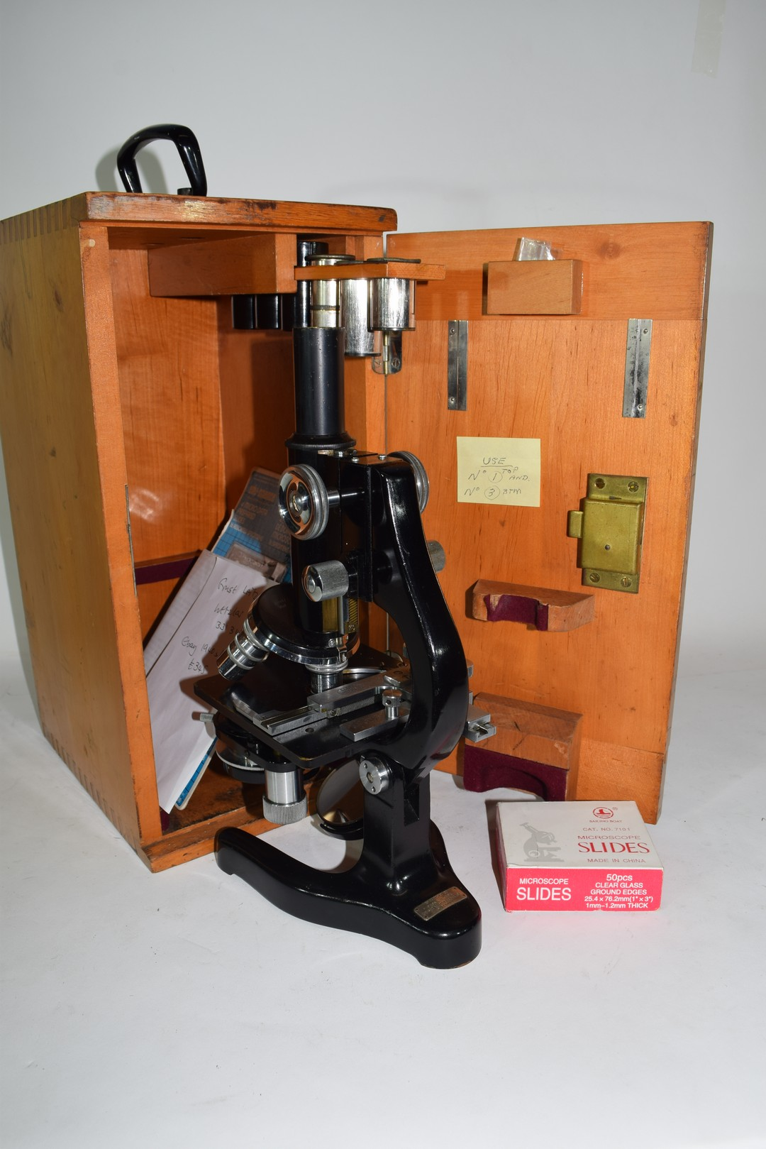 Ernst Leitz Wetzlar, 20th century microscope - Image 3 of 5