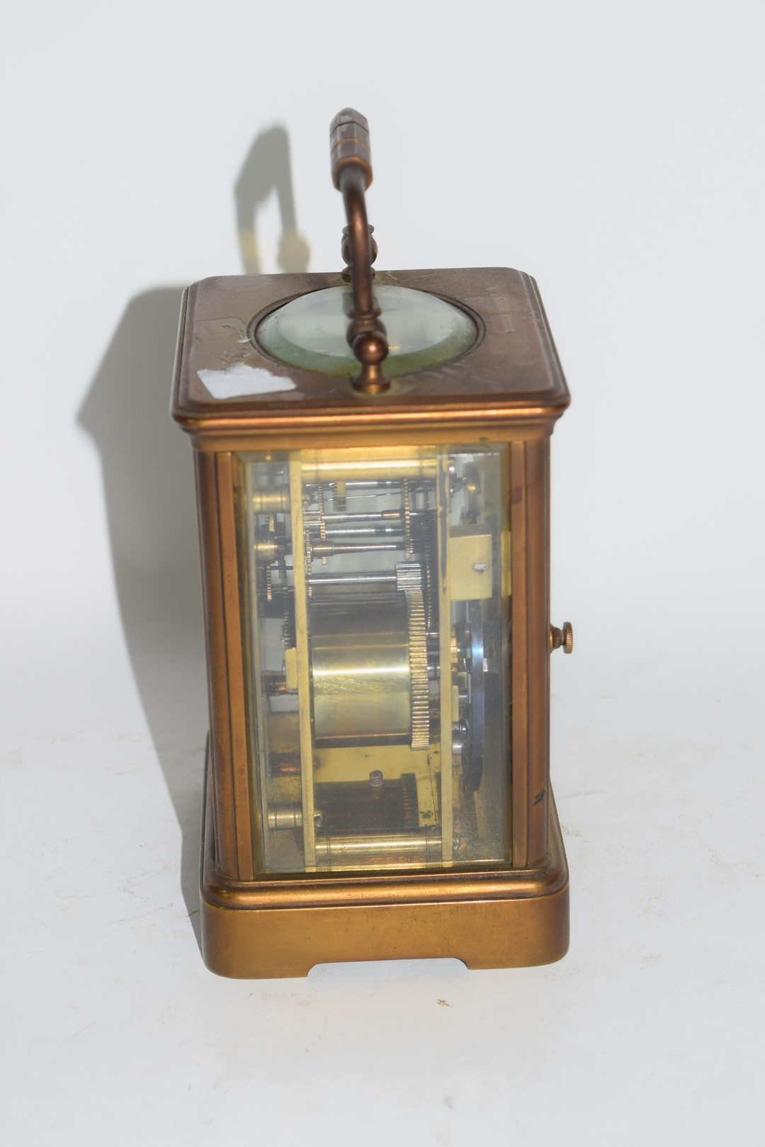 Brass carriage clock - Image 2 of 5