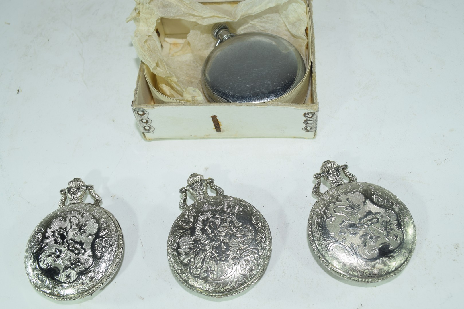 Cays screwback lever pocket watch - Image 3 of 4