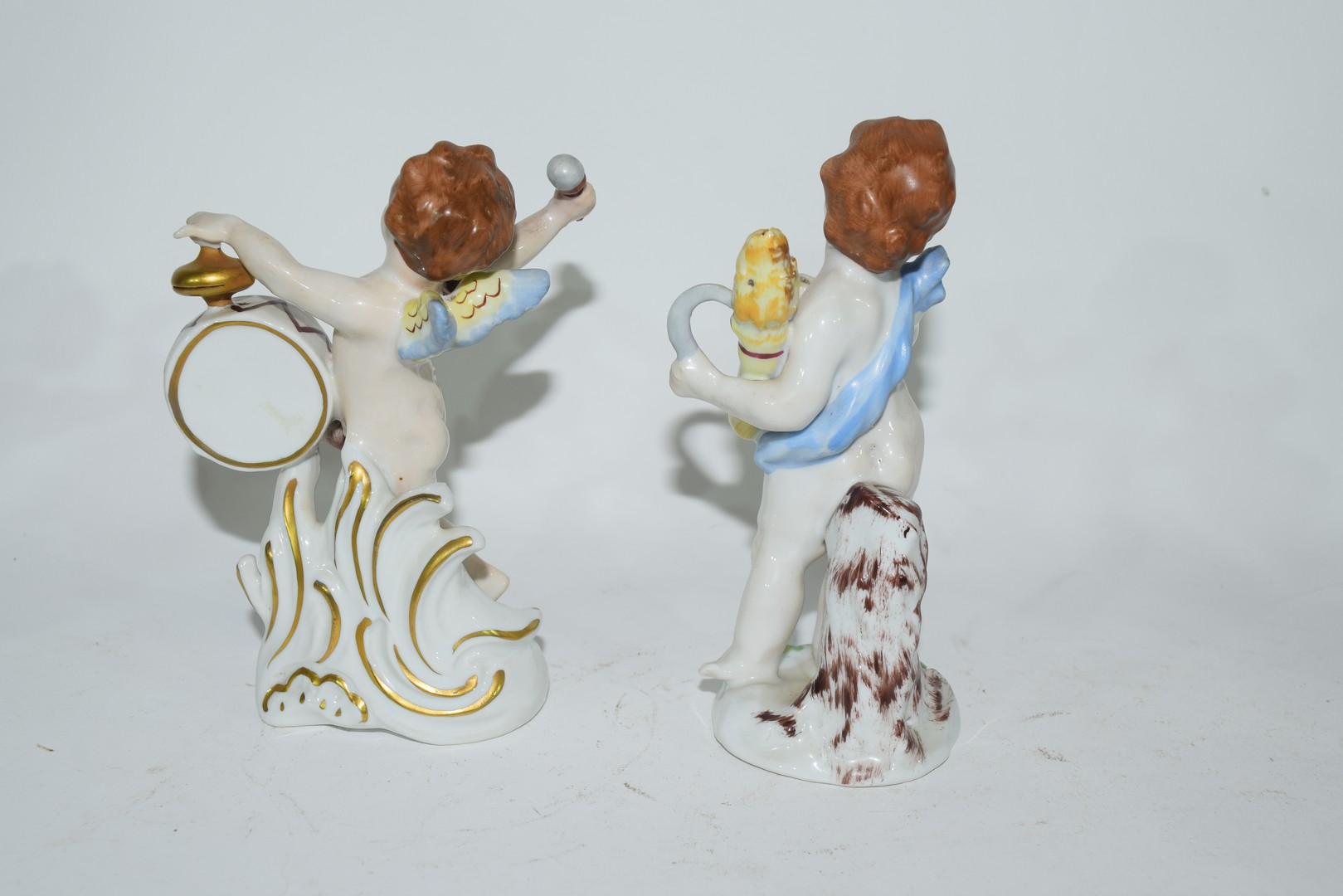 Group of Naples porcelain figures - Image 5 of 7